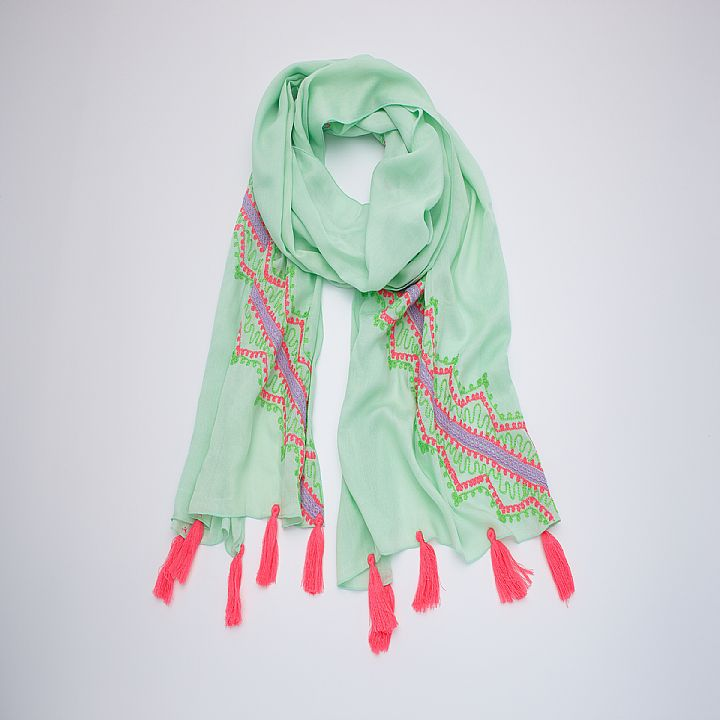 SCARF VERDE MINT